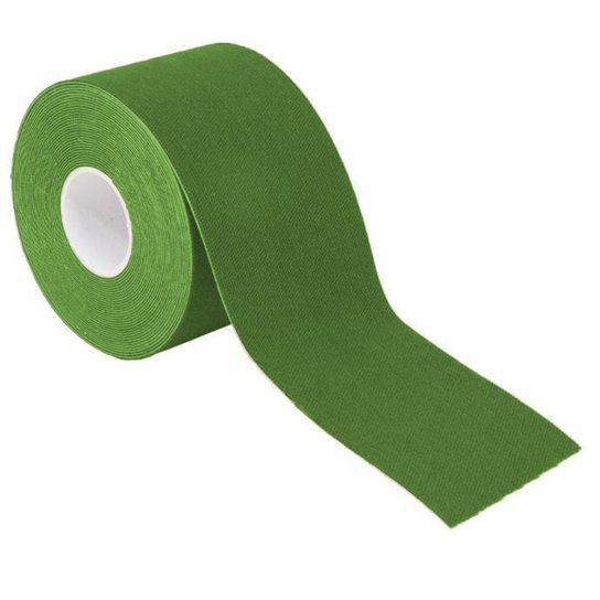 Bandagem Elástica Gold Sports Adesiva Neuromuscular - Verde