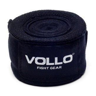 Bandagem Elástica Vfg - Vollo Sports - 50Mm X 3Mts - Par - Preta