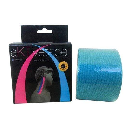 Bandagem Elástica/Kinésio - Aktive Tape - Azul