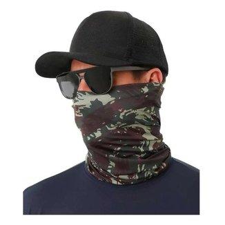Bandana Buff Lenço Camuflado EB Com Proteção UV50+ Indicado Para Esportes E Atividades Ao Ar Livre