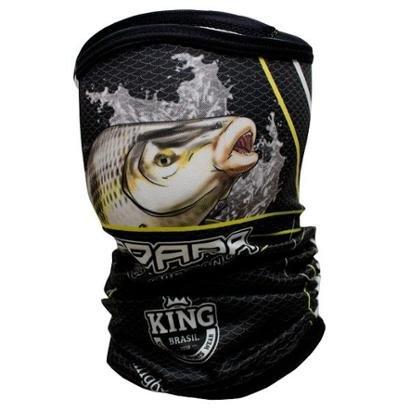 Bandana ou Buff King Brasil com proteção UV - Piapara