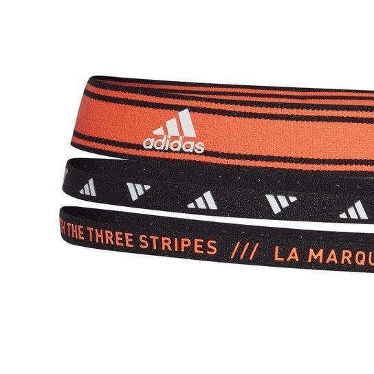 Bandanas Adidas Treino - Preto+Laranja