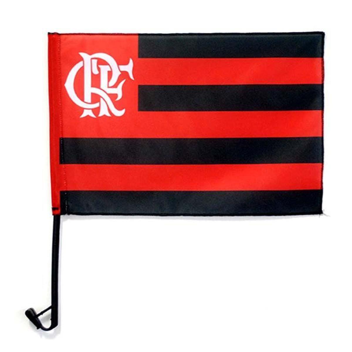 83670865658ee Bandeira Flamengo Modelo Carro - Preto e Vermelho - Compre Agora ...