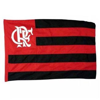 Bandeira Flamengo Sublimada Dupla Face 1 1/2 Pano UN