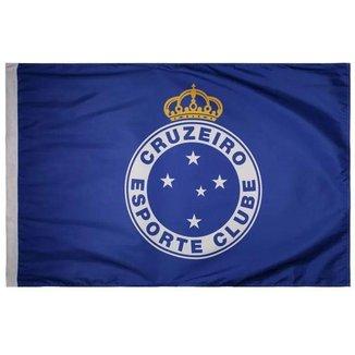 Bandeira Oficial - 2 Panos 1,30 X 0,90 Cm. Cruzeiro