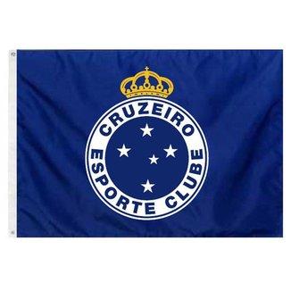 Bandeira Oficial do Cruzeiro 256 x 180 cm - 4 Panos