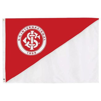 Bandeira Oficial do Internacional 98 x 68 cm - 1 1/2 pano