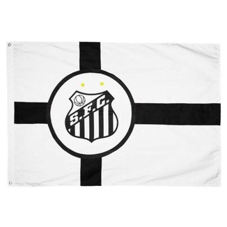 Bandeira Oficial do Santos 128 x 90 Centímetros