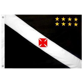 Bandeira Oficial do Vasco da Gama 64 x 45 cm