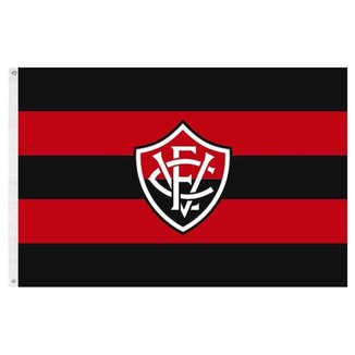 Bandeira Oficial do Vitória 128 x 90 cm -  2 Panos