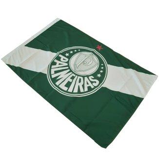 Bandeira Palmeira Símbolo E Branca Oficial