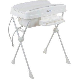 Banheira de Bebê com Suporte Desmontável Millenia + Branco - Burigotto