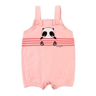 Banho de Sol Bebê Ano Zero Suedine Panda