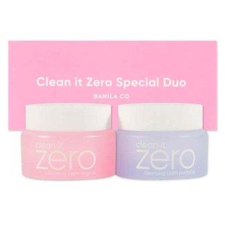 Banila Co Clean It Zero Kit – Bálsamo de Limpeza + Bálsamo de Purificação Kit