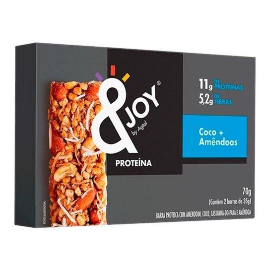 Barra de Protein Enjoy Nuts Coco e Amêndoas 35g x 2 -
