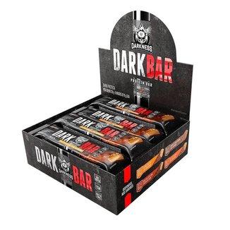 Barra de Proteina Darkbar - 8 unidades - Integralmédica - Salted Caramelo com Amendoim