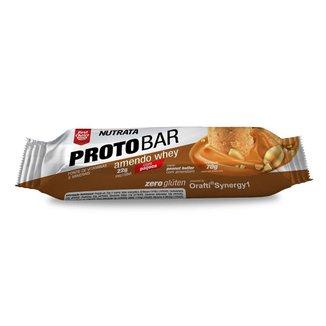 Barra de Proteína Protobar Nutrata Whey 70g c/ 8 Unidades