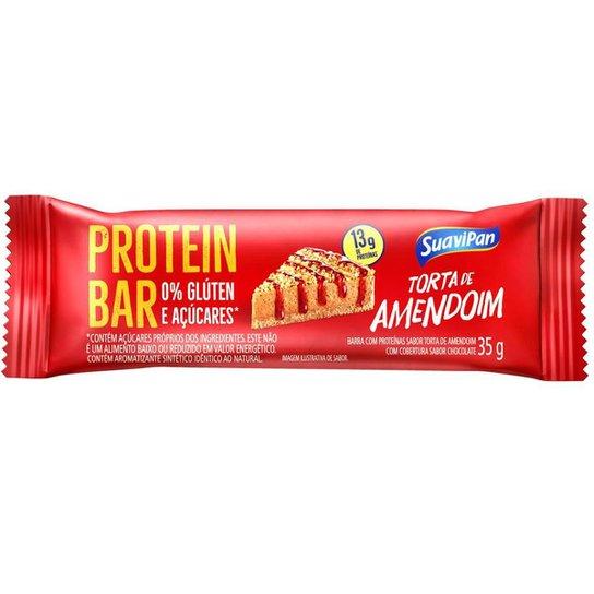 Barra De Proteína Torta De Amendoim Zero Display C/ 12 Und. - Vermelho