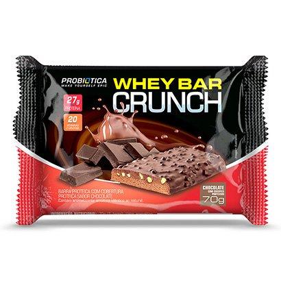 Barra de Proteína Whey Bar Crunch c/8 unidades – Probiótica