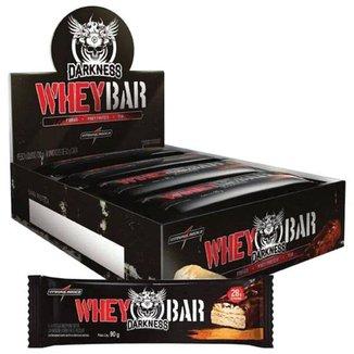 Barra de Proteína Whey Bar Darkness 90 gr - Caixa c/ 8 unid - IntegralMedica