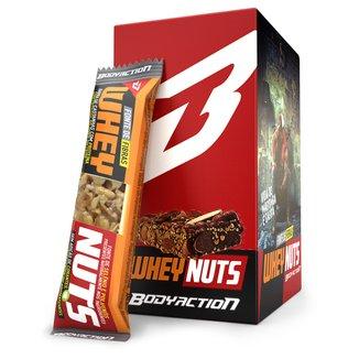 Barra de Proteína Whey Nuts c/12 Unid. - Body Action