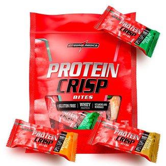 Barra de Proteínas Crisp Bites Sortidos 375g IntegralMédica - 15 barras - Único