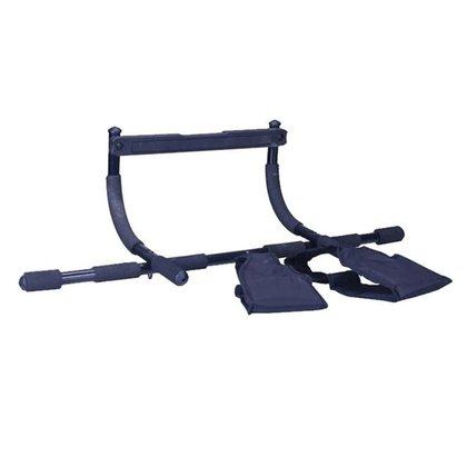 Barra Porta Iron Gym Multifuncional Com 2 Tipóias Liveup