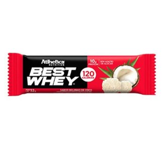 Barra Proteica Best Whey - 1 Barra 30g Beijinho de Coco - Atlhetica Nutrition