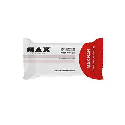 Barra Protéica Max Bar 33G – Max Titanium – Coco com Granulado