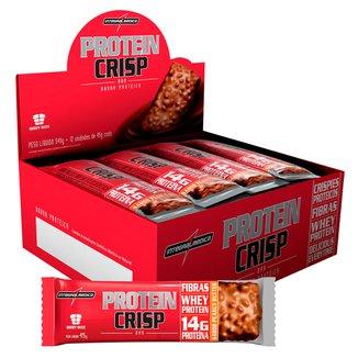 Barra Protéica Protein Crisp 540g 12 unidades - IntegralMédica