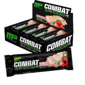 Barra Proteína Combat Crunch 45g 12uni - MusclePharm