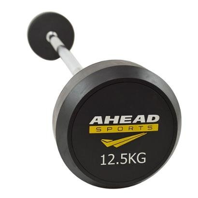 Barra Reta Ahead Sports Montada 12,5 KG - Unissex