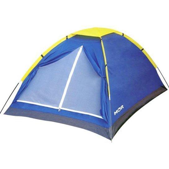Barraca Camping (Acampar) Mor Iglu 4 Pessoas Super Leve e Resistênte a Água - Azul