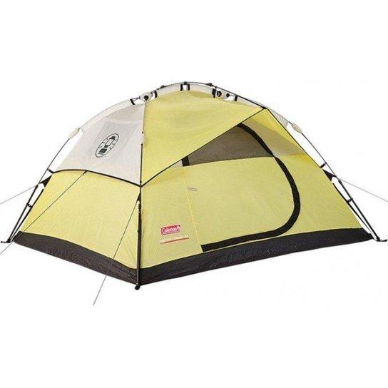 Barraca de Camping Coleman Instant Dome 4 Pessoas - Amarelo