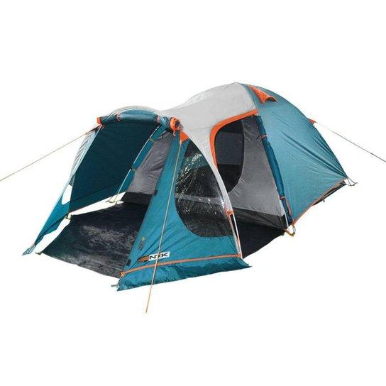 Barraca de camping NTK Indy GT 3/4 - Azul+Cinza
