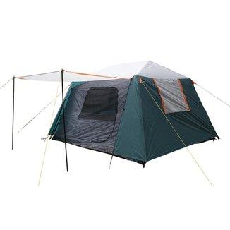 Barraca Para Camping Até 6 Pessoas Nautika Flash Coluna D'Água 3000Mm