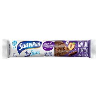 Barrinha SuaviPan De Ameixa Zero Açúcar Display C/ 24 Unid