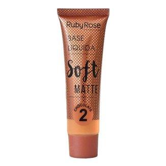 Base Líquida Ruby Rose Soft Matte Chocolate L2