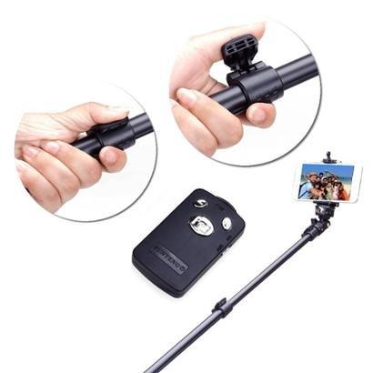 Bastão Yunteng Prova D'água Bluetooth Controle Remoto 42cm-1,25m GoPro - Unissex