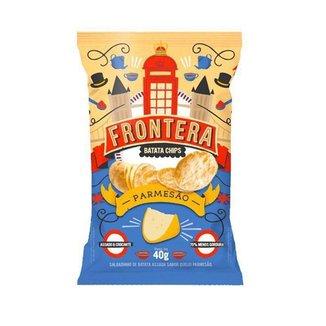 Batata Chips Parmesão Italiano 40gr - Frontera