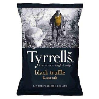 Batata Chips Trufa com Sal Marinho 150gr - Tyrrells