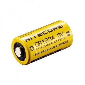 Bateria De Lítio Nitecore Não Recarregável CR123A