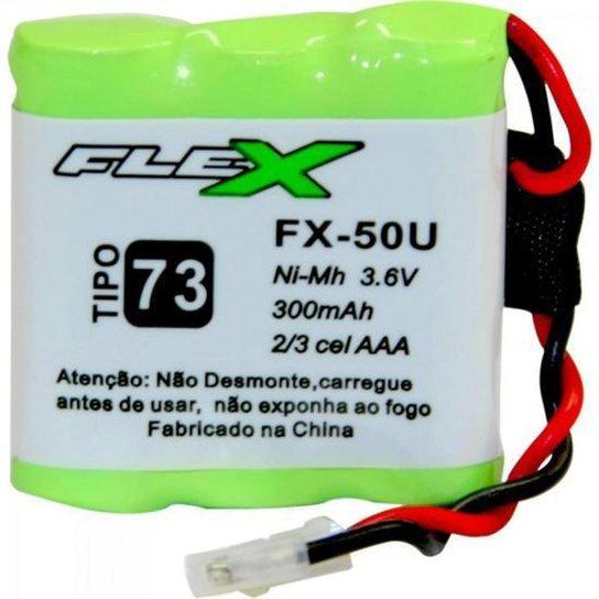 Bateria Universal para Telefone sem Fio 300MAH 3,6V FX-50U FLEX - Preto