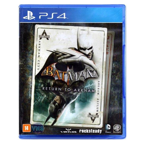 Batman Return To Arkham - Ps4 - Incolor