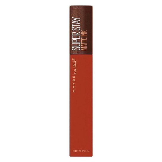 Batom Líquido Maybelline Superstay Matte Ink Coffee Cocoa Connoisseur - Incolor