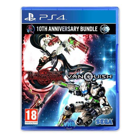 Bayonetta & Vanquish 10th Anniversary Bundle - PS4 - Incolor