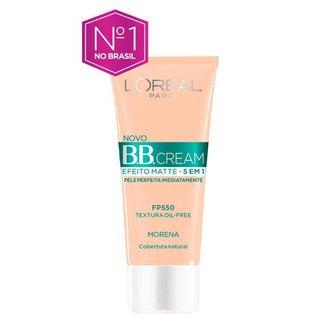 Bb Cream L'Oréal Paris - Efeito Matte 5 Em 1 Fps 50 Dark