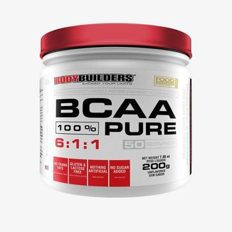 BCAA 100% PURO - BODYBUILDERS 200G