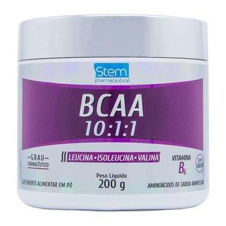 BCAA 10:1:1 em Pó (200g) - Stem Pharmaceutical