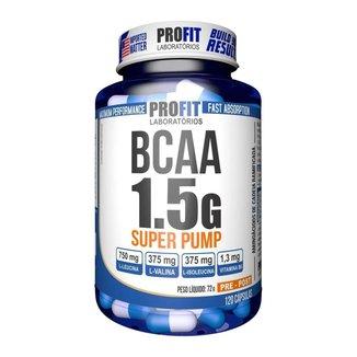 BCAA 1,5g Super Pump 120 cáps - ProFit